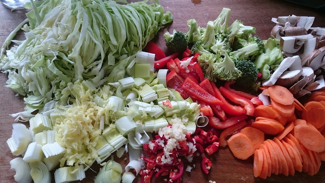 verduras e legumes