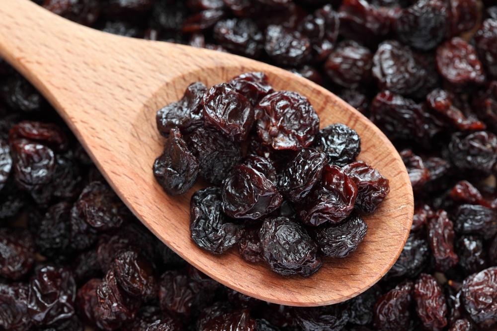 propriedades da uva passas