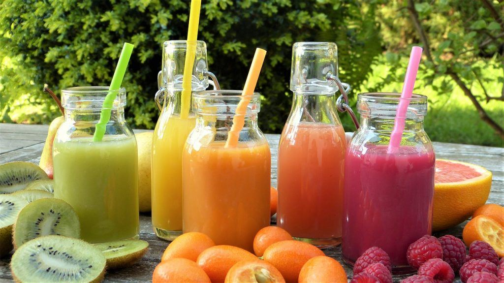 benefícios do suco de fruta
