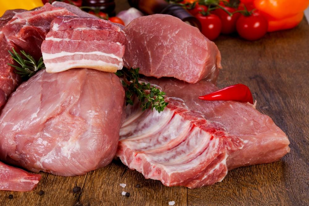 propriedades da carne de porco