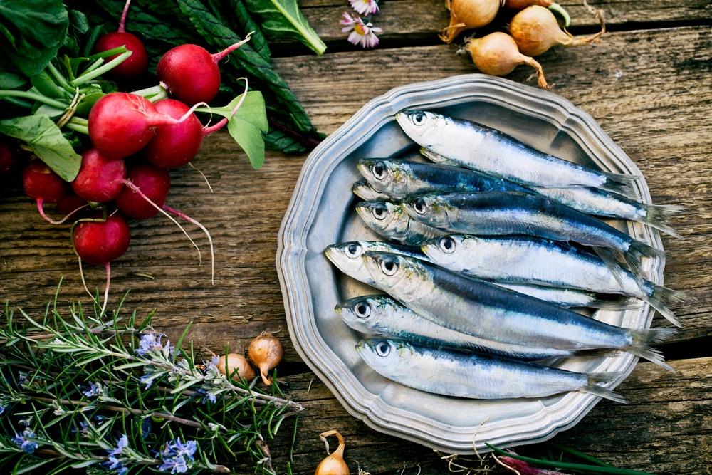 Benefícios da Sardinha para a saúde