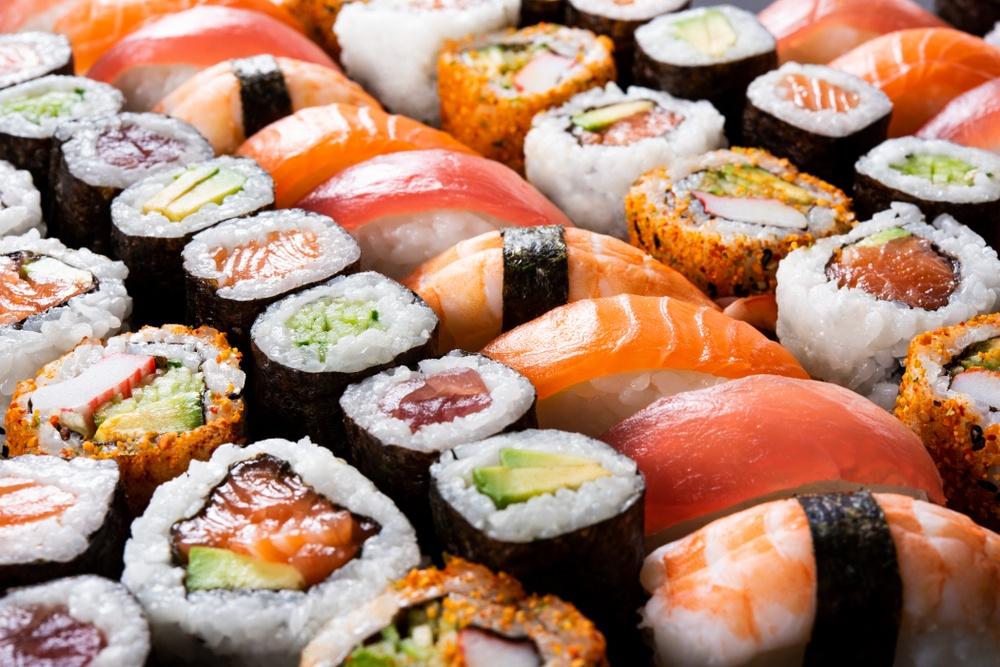 Propriedades do sushi