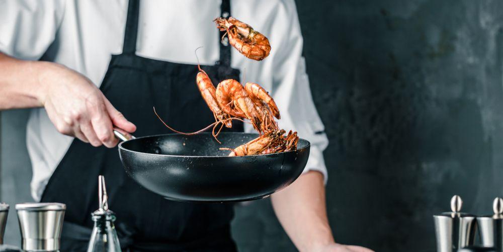 Quais são as propriedades nutricionais do camarão?
