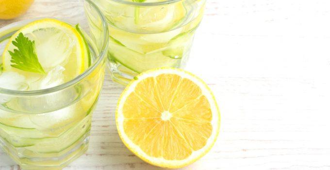 Benefícios da Água de limão para a saúde